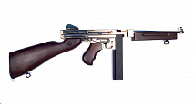 Пистолет-пулемет King Arms EvoSS Thompson M1A1 Gold (TI-ES-Thompson-G-01) Trade-In